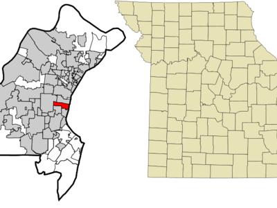 Location Of Richmond Heights Missouri