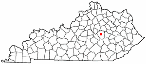 Location Of Richmond Kentucky