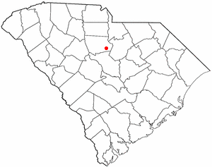 Location Of Ridgeway South Carolina