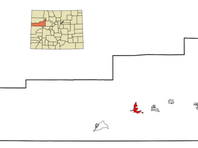 Location In Garfield County And The State Of Colorado