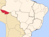Location Of Rio Branco