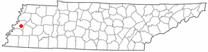 Location Of Ripley Tennessee