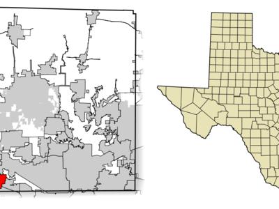 Location Of Roanoke In Denton County Texas