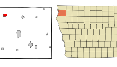 Location Of Rock Valley Iowa