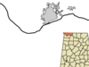 Location In Lauderdale County And The State Of Alabama