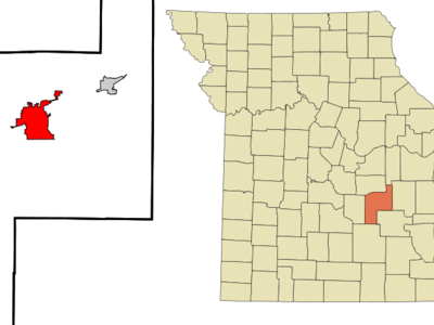Location Of Rolla Missouri