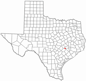 Location Of Round Top Texas