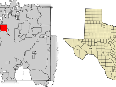 Location Of Saginaw In Tarrant County Texas