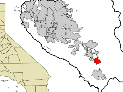 Location In Santa Clara County And The State Of California