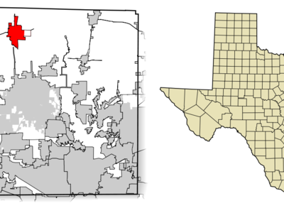 Location Of Sanger In Denton County Texas
