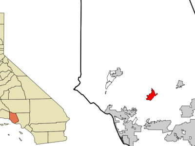 Location In Ventura County And The State Of California