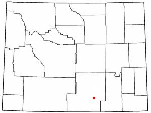 Location Of Saratoga Wyoming