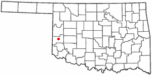 Location Of Sayre Oklahoma