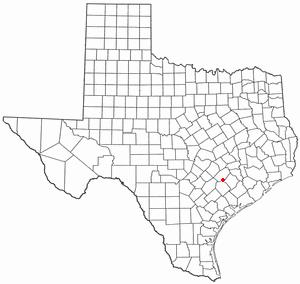 Location Of Schulenburg Texas