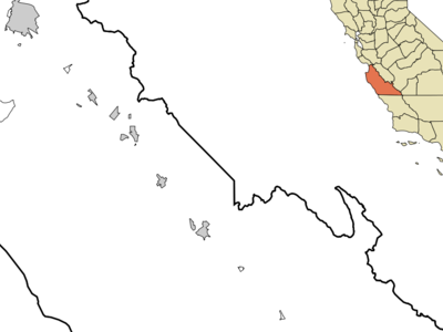 Location In Monterey County And The State Of California