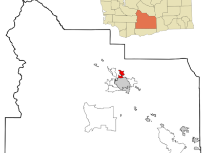 Location Of Selah Washington