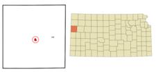 Location Of Sharon Springs Kansas
