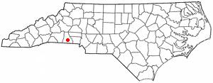 Location Of Shelby North Carolina