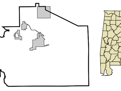 Location In Macon County And The State Of Alabama