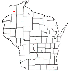 Location Of Solon Springs Wisconsin