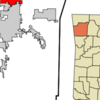Location In Washington County And The State Of Arkansas