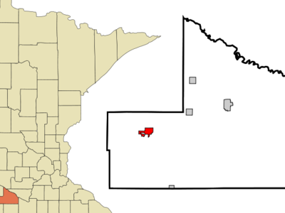 Location Of Springfield Minnesota