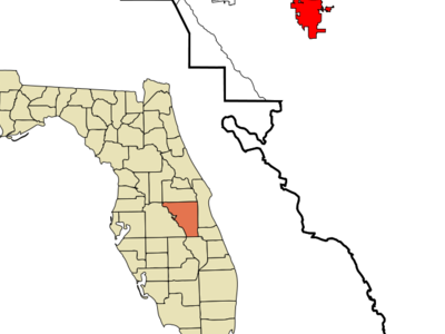 Location In Osceola County And The State Of Florida