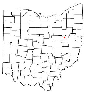 Location Of Strasburg Ohio