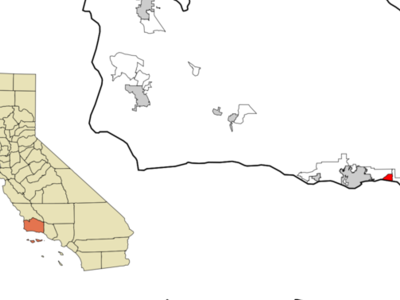 Location In Santa Barbara County And The State Of California