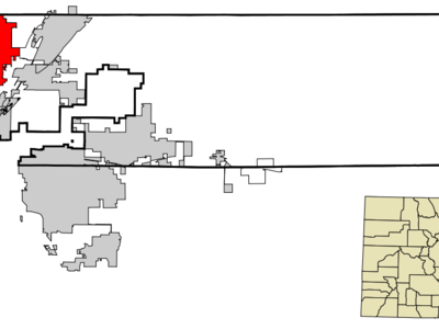 Location In Adams County And Weld County Of The State Of Colora