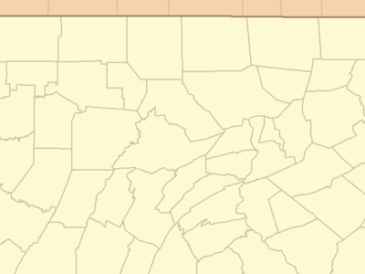 Location Of Titusville Within Pennsylvania