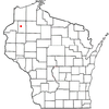 Location Of Trego Wisconsin
