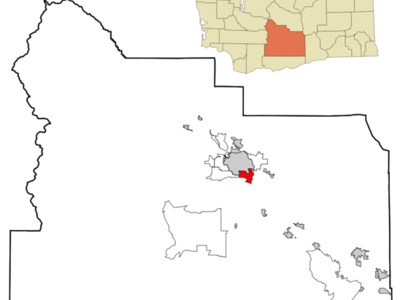 Location Of Union Gap Washington