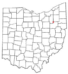 Location Of Uniontown Ohio