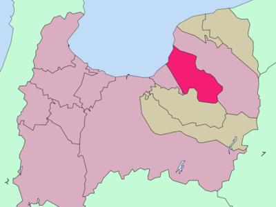 Location Of Uozu In Toyama