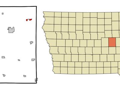 Location Of Urbana Iowa