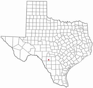 Location Of Uvalde Texas