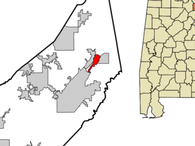 Location In Dekalb County And The State Of Alabama