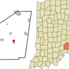 Location Of Versailles In The State Of Indiana