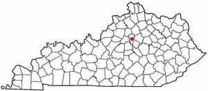 Location Of Versailles Kentucky