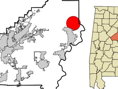 Location In Alabama