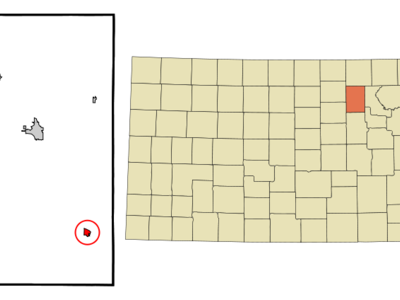 Location Of Wakefield Kansas
