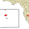 Location In Hardee County And The State Of Florida