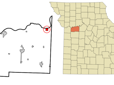 Location Of Waverly Missouri