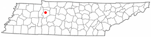 Location Of Waverly Tennessee