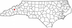 Location Of Weaverville North Carolina