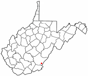 Location Of White Sulphur Springs West Virginia
