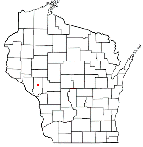 Location Of Whitehall Wisconsin