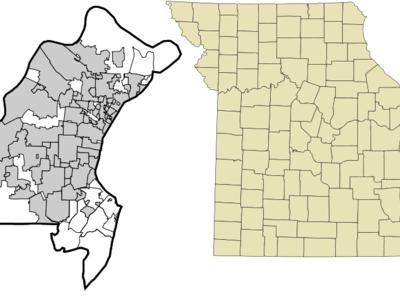 Location Of Wildwood Missouri
