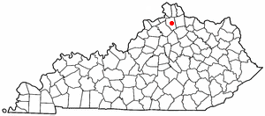 Location Of Williamstown Kentucky